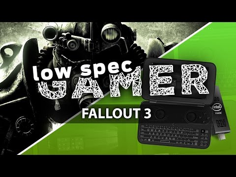 Super low Fallout 3 on Intel atom PC/Handheld