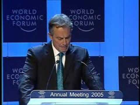 Davos Annual Meeting 2005 - Tony Blair