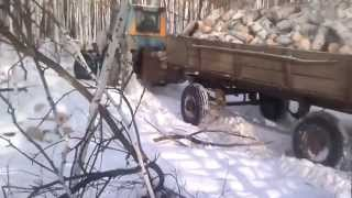 экстрим видео на тракторах