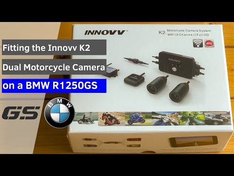 Innov K2 Dual Motorcycle Camera Fitting