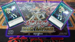 $$*BEST EVER DARK SAVIORS OPENING*$$ 1st Edition YU-GI-OH! Booster Box