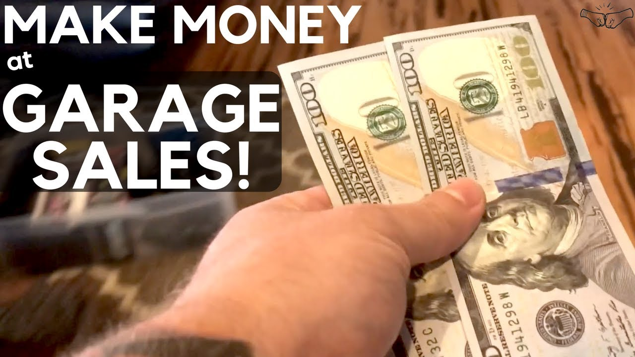 How To Make Money At Garage Sales Selling On Ebay Amazon Reselling Business Ralli Roots Youtube