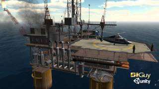 DI Guy | Human Simulation Software | Unity Oil Rig