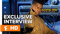 Talking Ice Cream and Jaegers - Pacific Rim: Uprising (2018) Interview | All Access - Продолжительность: 2 минуты 17 секунд