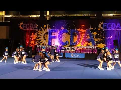 Ebtk8 Cheer 2018 1st place FCDA National Champions