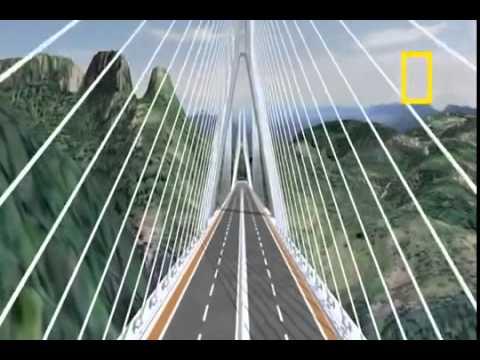 Puente Baluarte - Durango - Mazatlan 2014 ( El Puente Atirantado más Alto del Mundo )
