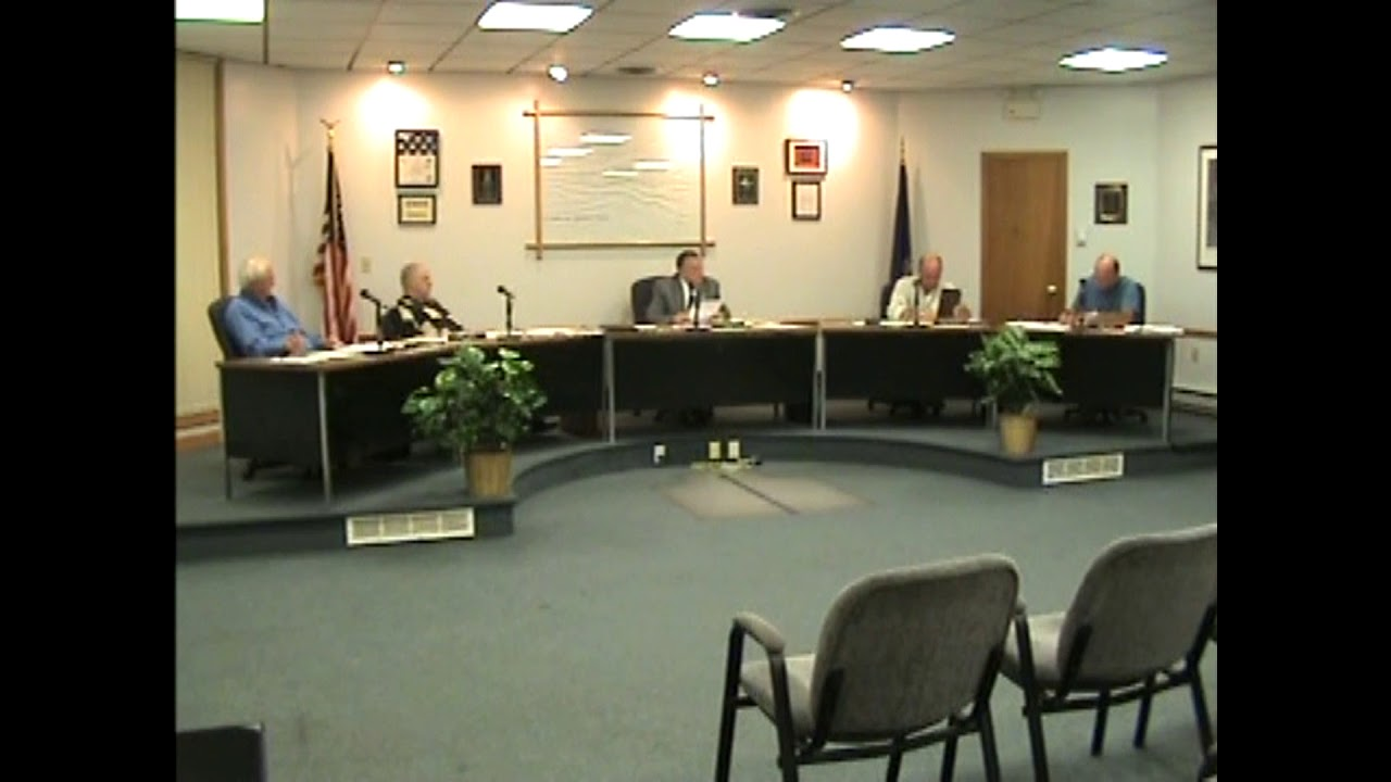 Rouses Point Village Board Meeting  9-7-10