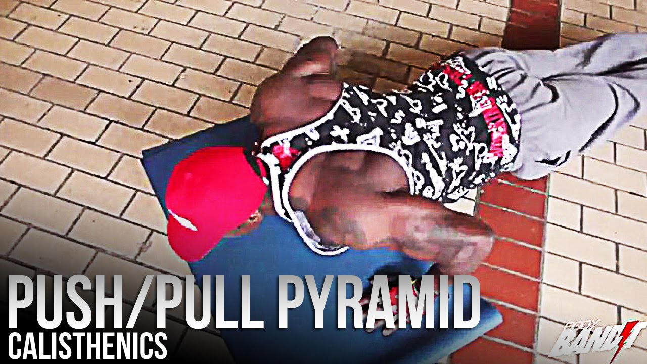 Quick push/pull pyramid workout (bodyweight only)