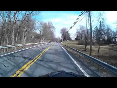 Motorcycle Ride 3/24/16 - Pine Bush to Cragsmoor Lookout & Back