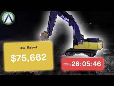 Make $75000 for digging a hole?