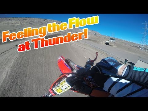 Feeling the Flow at Thunder! | Day with DeeO #132 | Motocross Motovlog