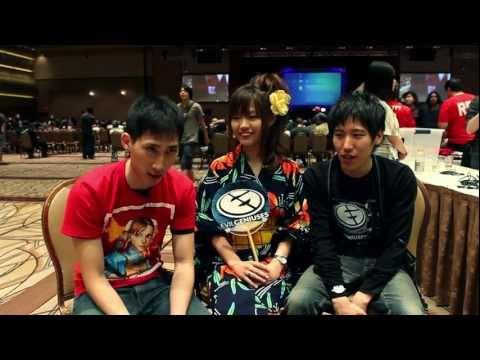 Evo 2011: Momochi & Chocoblanka w/ Zhi ももち チョコブランカ Cross Counter Asia - 동영상