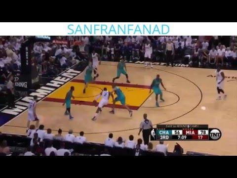 Miami Heat vs Charlotte Bobcats - Full Game Highlights   Game 1   April 17, 2016   NBA HD