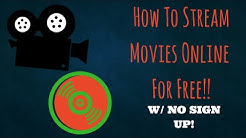 How To Stream Free Movies Online w/ No Sign Up (2016) - Tutorial #4