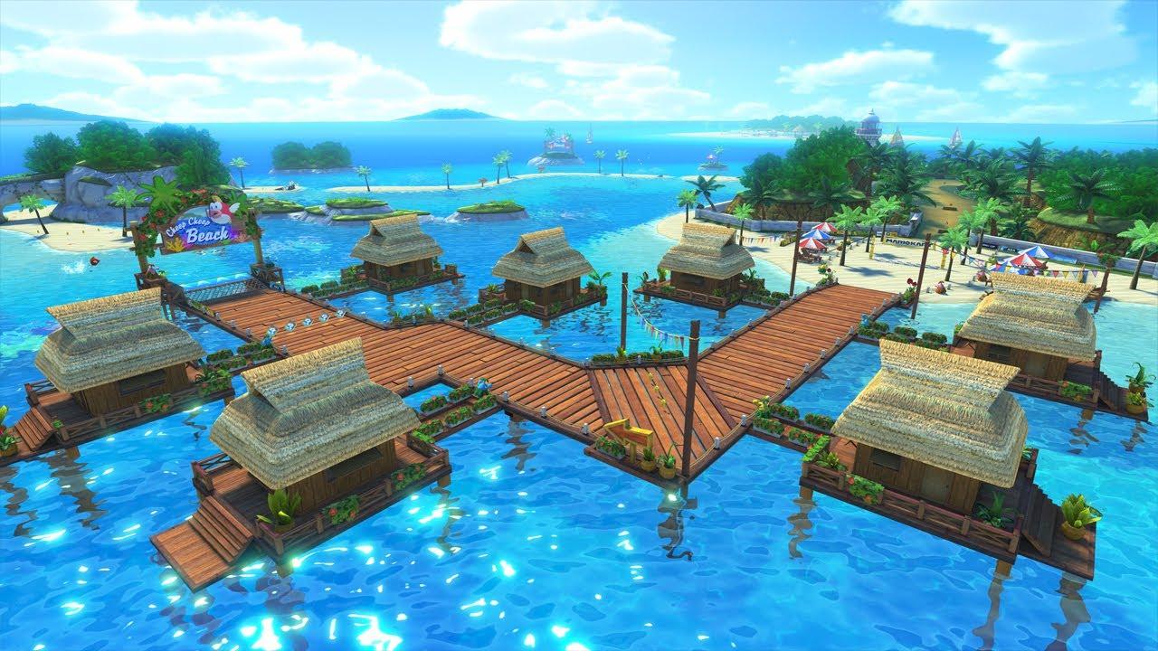 Cheep Cheep Island Map
