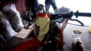кроссовый мотоцикл kaxa motos kxp d22