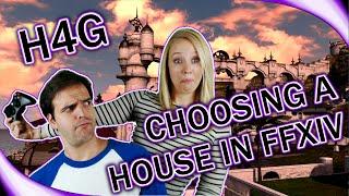 Choosing a Housing Plot in FFXIV - House Hunters Eorzea Edition - (1440p 60fps)