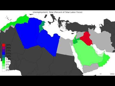 MENA - Unemployment, Total - Timelapse