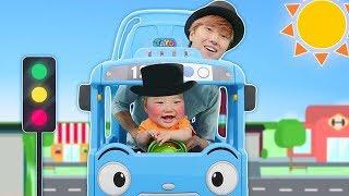 버스 타고 인기 동요 전래 동요 놀이 Mainan dan lagu anak-anak Wheel on the bus Nursery Rhymes Song