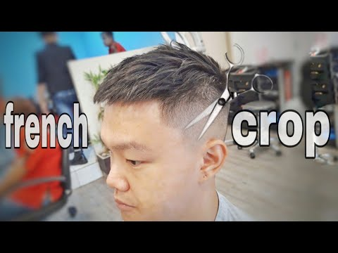 Haircut Men Barber Hairmenstyle Trend 2018 French Crop Potong