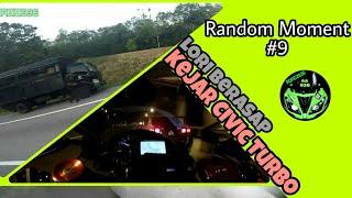 Random Moment #9 | Lori polis enjin terbakar ? | Kejar Honda Civic | Q&A Segment | Adiaziz636