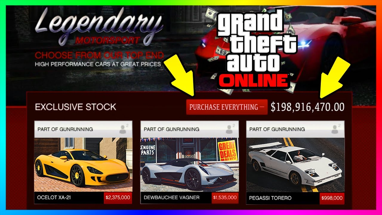 how much does it cost to buy all of the vehicles in gta online purchasing every car in gta 5. Black Bedroom Furniture Sets. Home Design Ideas