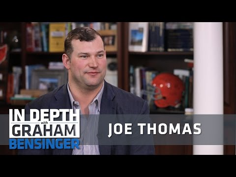 Joe Thomas: Johnny Manziel couldn't commit to the NFL
