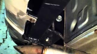 видео Как установить фаркоп на Митсубиси Паджеро 4?