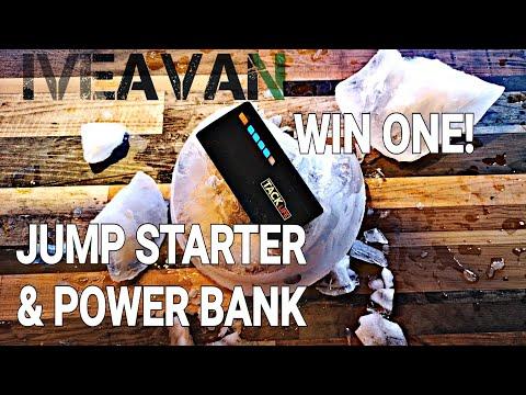 TACKLIFE Jump Starter & Power Bank. EXTREME TEST! (great Vanlife Tool!)