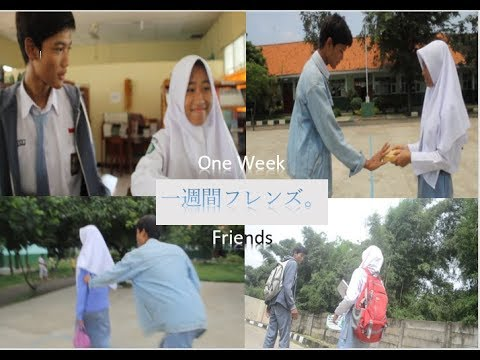 "Short Film ""One Week Friends"" live action  ver SHS2 CKP indonesian actor"