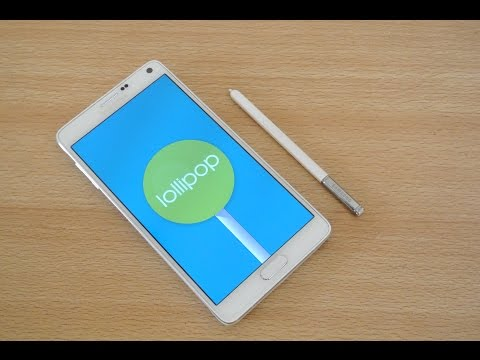 Samsung Galaxy Note 4 OFFICIAL Android 5.0.1 Lollipop Review HD