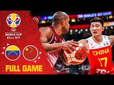 Venezuela knock host China down a peg! - Full Game