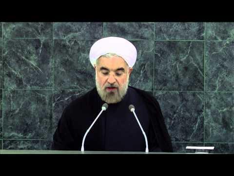 WorldLeadersTV: U.N.: IRAN's NEW PRESIDENT HASSAN ROUHANI SEEKS PEACE & SECURITY