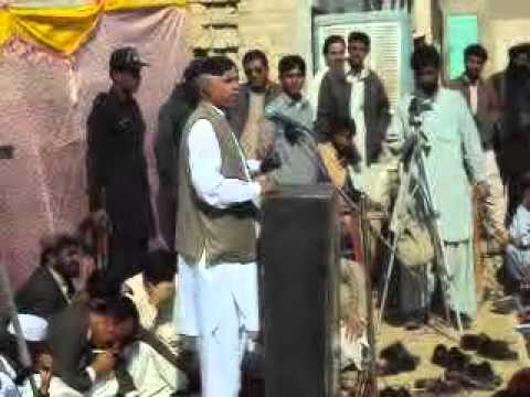Mir Khursheed Ahmed Jamaldini (BNP) is addressing ...