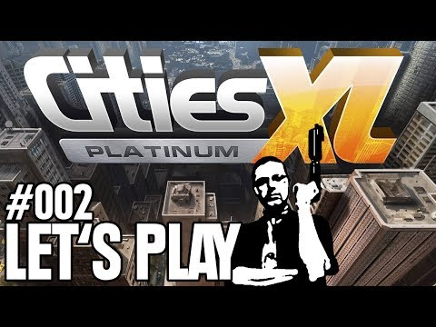 Let's Play - Cities XL Platinum #002 - Pier-to-Pier [Full-HD Gameplay] [Deutsch]