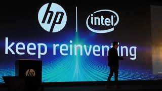 HP Keep Reinventing 2019 Launch Spectre Folio Laptop  & Tango X Printer