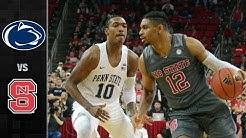 NC State vs. Penn State Basketball Highlights (2017-18)