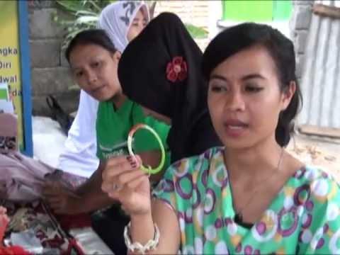 Sindo TV - Pengolahan Sampah Plastik Oleh Kelompok Seruni Mataram Lombok