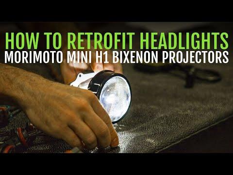 TRS Tips: How To Retrofit Headlights With Morimoto Mini H1 Bixenon Projectors