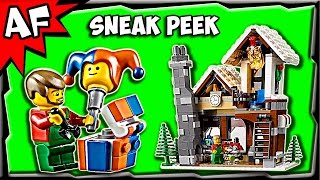 Lego City Winter Toy Shop 10249 Sneak Peek Official Images & Preview