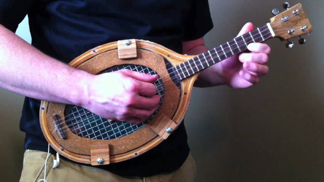 Tennis Racquet Banjo Ukulele Youtube