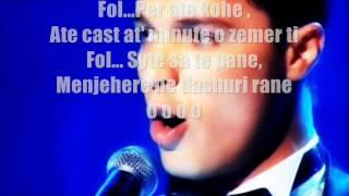 erjon beci aurores karaoke instrumental backvocals