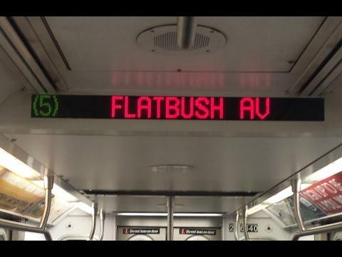 IRT Subway Ride: R142 (5) Train From Borough Hall to Brooklyn College Flatbush Avenue