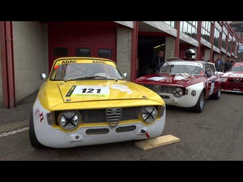 Alfa GTA,GTA/M TRACKDAY SPA 2014 GREAT SOUND