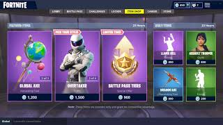 WHITEOUT - OVERTAKER SKINS! (Fortnite Item Shop 17 septembre)