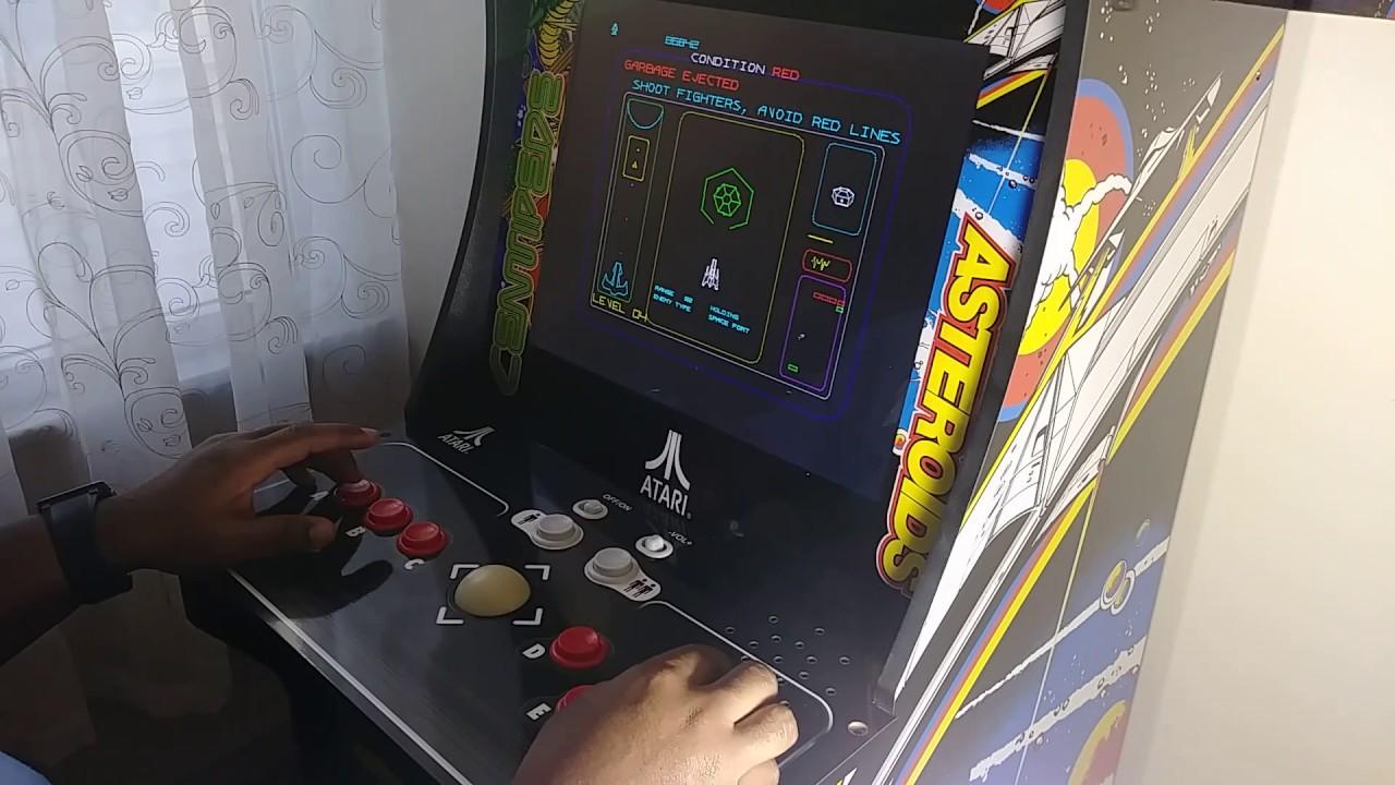 Arcade1up Deluxe 12 in 1 best Major Havoc gameplay 969,306