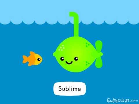 Fruity cuties lime joke kawaii cartoon youtube - Fruity cuties jokes ...