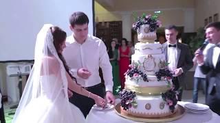 Свадебный торт с виноградом