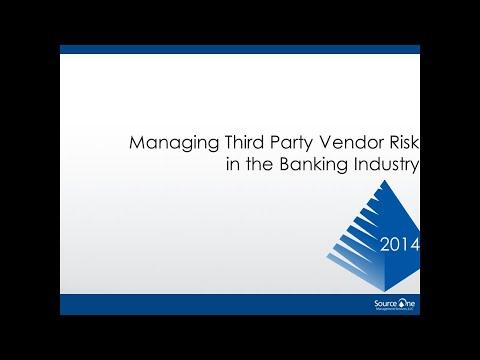 Managing Third Party Vendor Risk