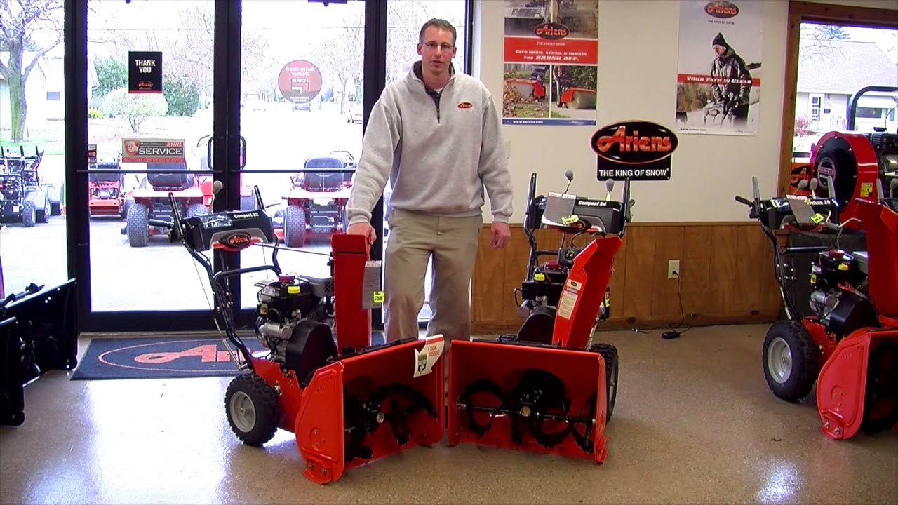 SNOWTHROWER VIDEOS Barton Small Engine West Bend, WI (262